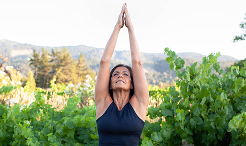 01/09 - Vineyard Yoga Hike