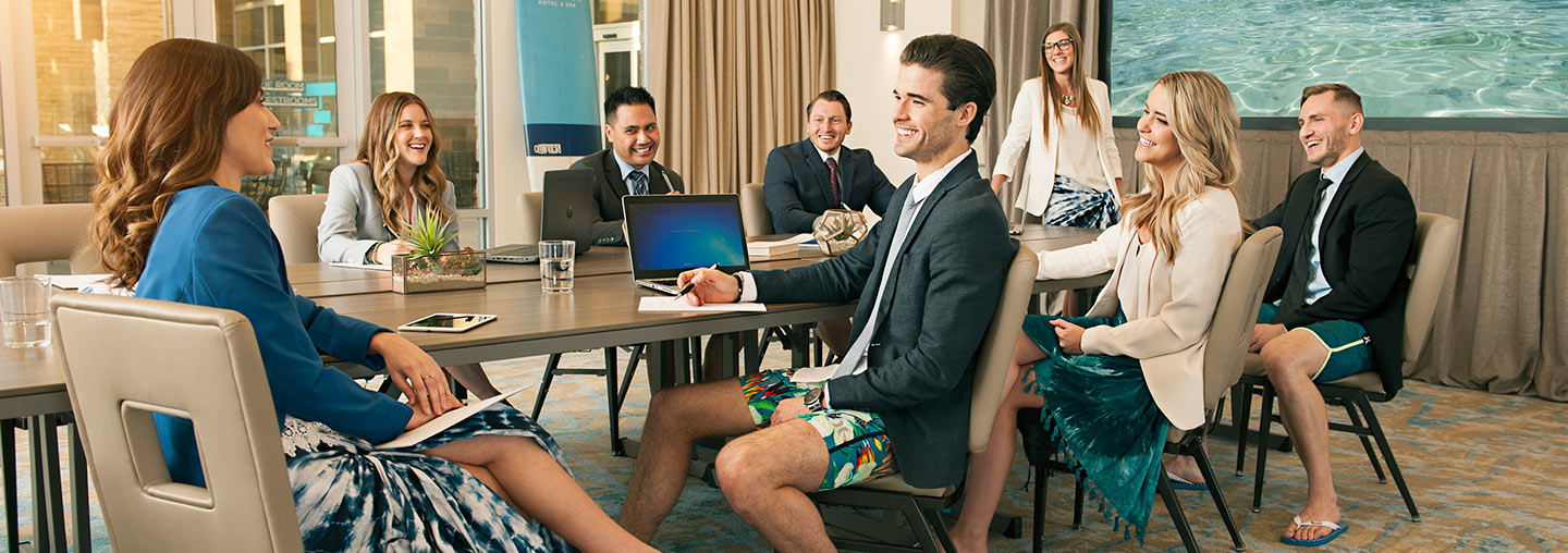 Boardshorts to Boardrooms