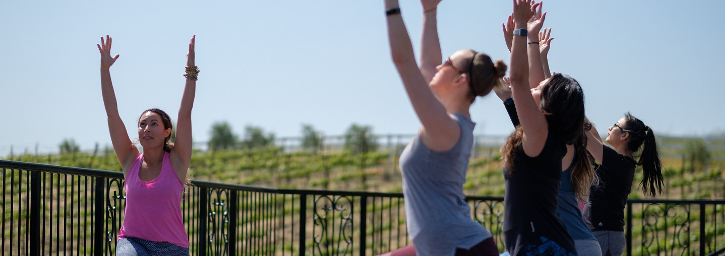 Wellness Wednesdays With Yoga in the Vineyards