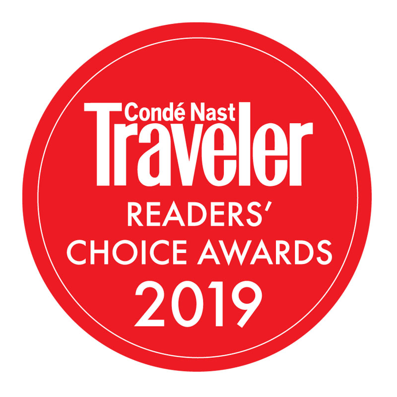 Condé Nast Traveler Readers' Choice Award Winners