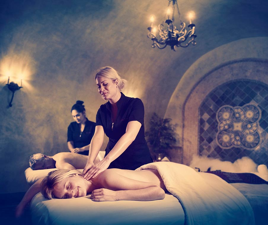 Couple's massage at Spa Terra