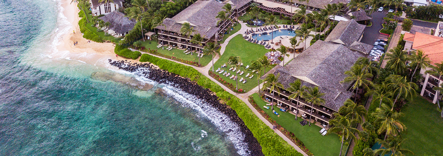 Aerial of Ko'a Kea Hotel & Resort