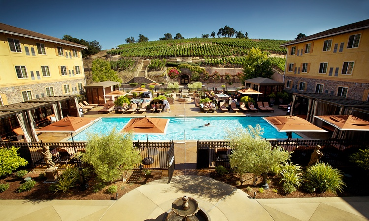The Meritage Resort Pool And Courtyard