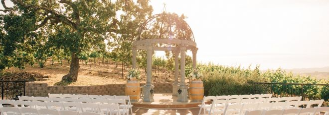 Mobile: Vineyard Deck Wedding Ceremony Venue
