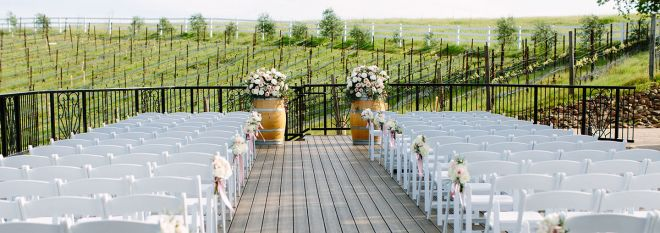 Mobile: Vineyard Deck Wedding at The Meritage Resort and Spa