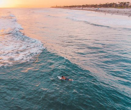 extended stay surfer in huntington beach